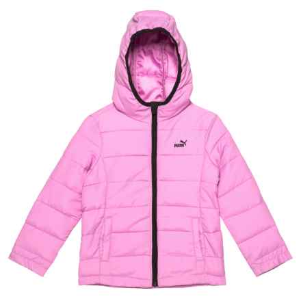 Puma Packable Jacket - Insulated (For Toddler Girls) in Orchid - Closeouts