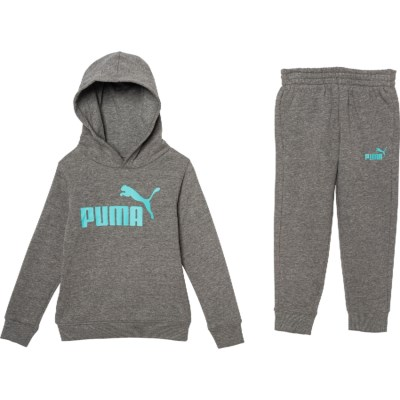 PUMA Little Boys Pullover Fleece Set