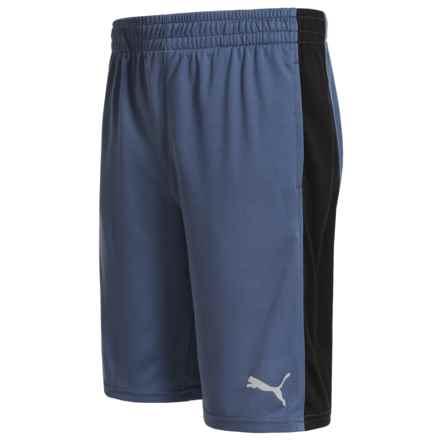 Puma Rebel Shorts (For Big Boys) in Blue Indigo - Closeouts