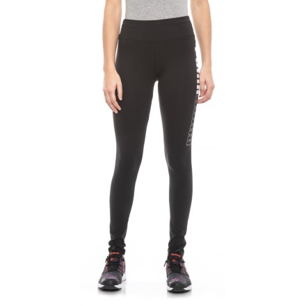 3f7502861e0ac Puma Reflection Leggings (For Women) in Black/White - Closeouts