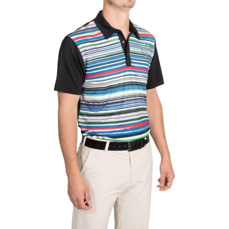 Puma Road Map Polo Shirt UPF 40+, Short Sleeve (For Men)