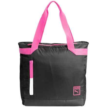 Puma Rosa Nueva Tote Bag (For Women) in Black/Pink - Closeouts