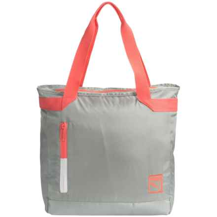 Puma Rosa Nueva Tote Bag (For Women) in Light Pastel Grey - Closeouts