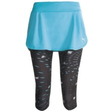 Puma Run 3/4 Skirt (For Women) in Blue Atoll - Closeouts