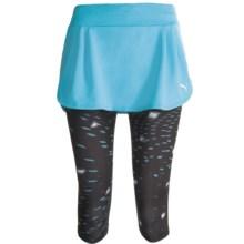 Puma Run 3/4 Skirt (For Women) in Blue Atoll - Closeouts