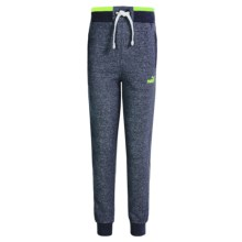 Puma Salt & Pepper Joggers (For Big Boys) in Navy Heather - Closeouts