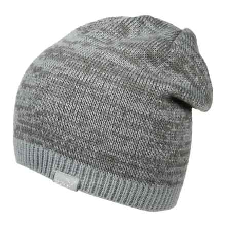 Puma Shimmer Cat Beanie (For Women) in Medium Grey - Closeouts