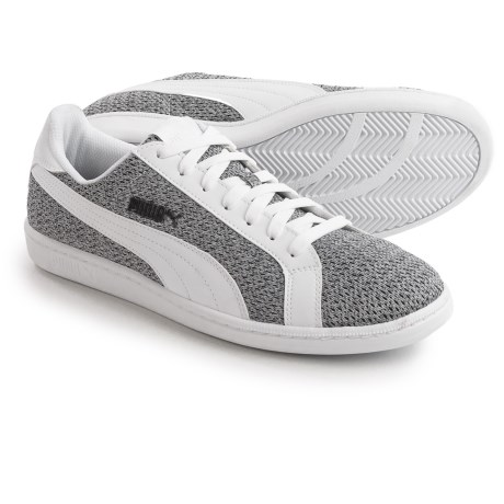 Puma Smash Knit Sneakers (For Men)