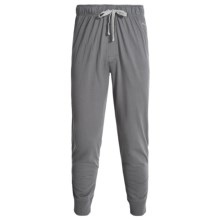 Puma Solid Jersey Jogger Sleep Pants (For Men) in Medium Grey - Closeouts