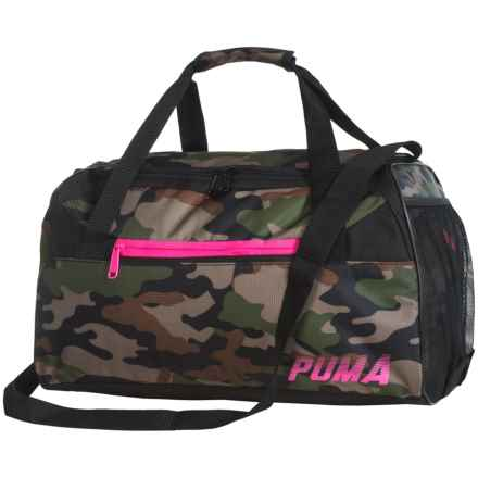 Puma Sophia Duffel Bag (For Women) in Camouflage - Closeouts