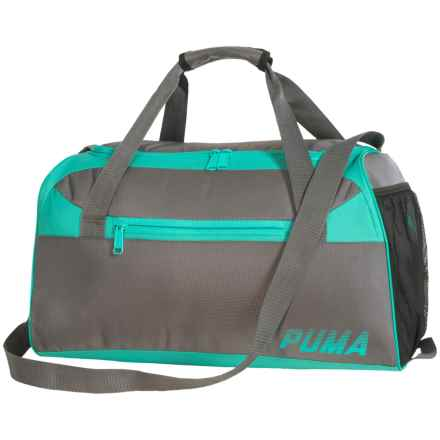 Puma Sophia Duffel Bag (For Women) in Medium Grey - Closeouts