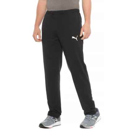 Puma Stretch Lite Track Pants (For Men) in Black/Black - Closeouts
