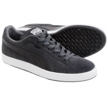 Puma Suede Classic + LFS Sneakers (For Men) in Dark Shadow/Black - Closeouts