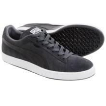 Puma Suede Classic + LFS Sneakers (For Men) in Dark Shadow/Black - Closeouts