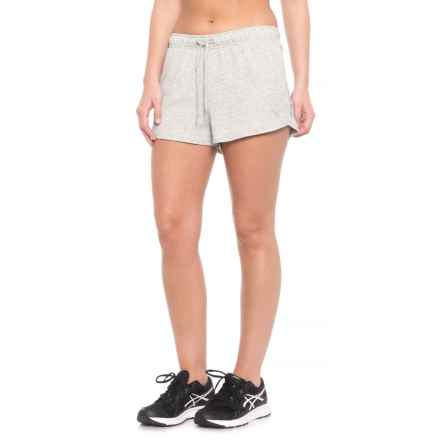 Puma Summer Shorts (For Women) in Light Grey Heather - Closeouts