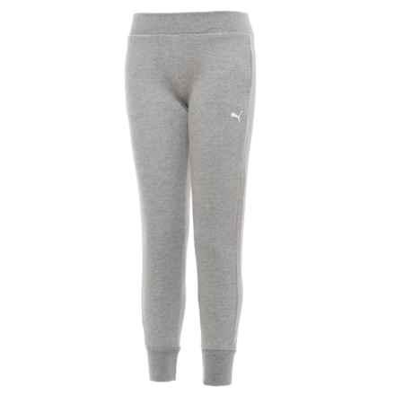 Puma Sweatpant Joggers (For Big Girls) in Grey - Closeouts