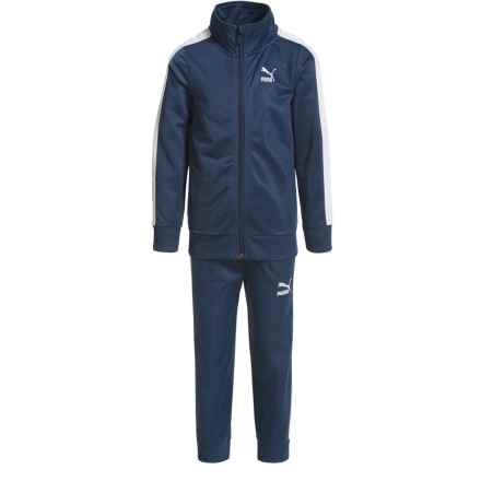 Puma T7 Track Jacket and Pants Set (For Little Boys) in Sargasso Sea - Closeouts