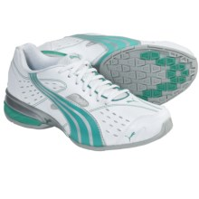 Puma Tazon 5 Walking Sneakers (For Women) in White/Aqua Green - Closeouts