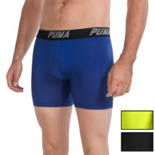 Puma Tech Boxer Briefs - 3-Pack (For Men) in Blue/Green - Closeouts