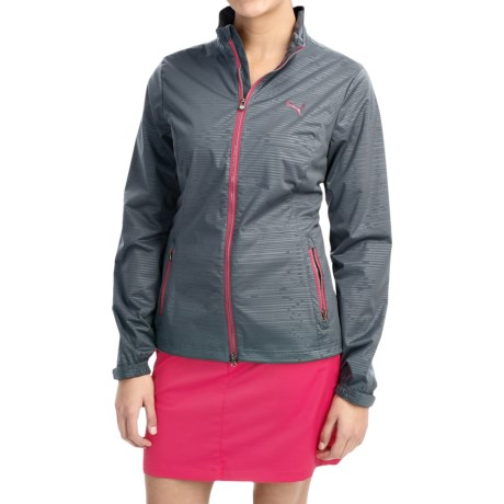 Puma Tech Rain Jacket (For Women)
