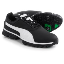 Puma Titanlite Golf Shoes (For Men) in Black/White - Closeouts