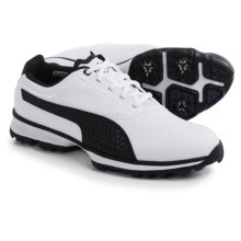 Puma Titanlite Golf Shoes (For Men) in White/Black - Closeouts