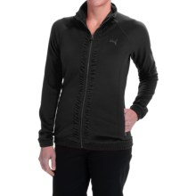 Puma Track Golf Jacket (For Women) in Black - Closeouts