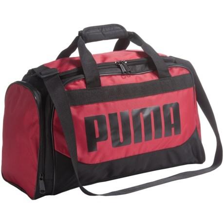 """Puma Transformation Duffel Bag - 19"""" in Red"""