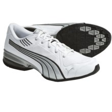 Puma Tri-Run SL Running Shoes (For Men) in White/Silver Metallic/Black - Closeouts