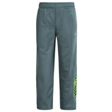 Puma Tricot Pants (For Little Boys) in Smoke Grey - Closeouts