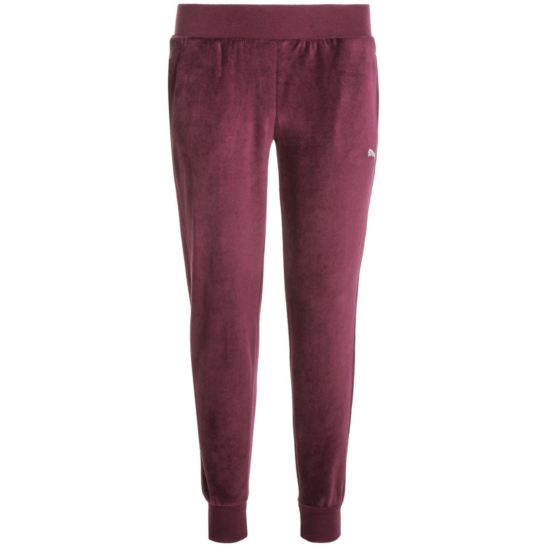 puma velour pants