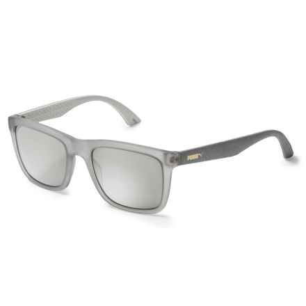 Puma Wayfarer Sunglasses (For Men and Women) in Matte Tonal Gray - Closeouts