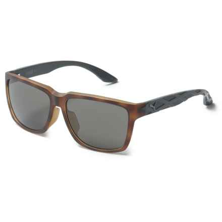 Puma Wayfarer Sunglasses (For Men) in Havana - Overstock