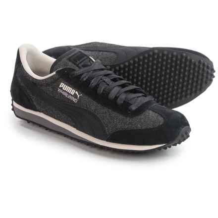 Puma Whirlwind Denim Sneakers (For Men) in Puma Black/Whisper White - Closeouts