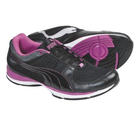 Puma Wylie Infinity 2 Cross Training Shoes (For Women) in Black/Puma Silver