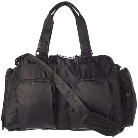Pure and Simple Double-Front-Pocket Duffel Bag