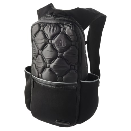 Pure & Simple Padded Backpack in Black
