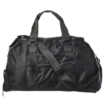 Pure and Simple Pure & Simple OTS Duffel Bag in Black - Overstock