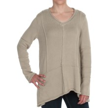 Pure Handknit Beach Comber Sweater (For Women) in Yukon Dust - Closeouts