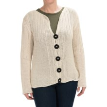 Pure Handknit Libson Sweater (For Women) in Cream - Closeouts