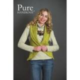 Pure Handknit Marni Crochet Cocoon Sweater Vest (For Women)