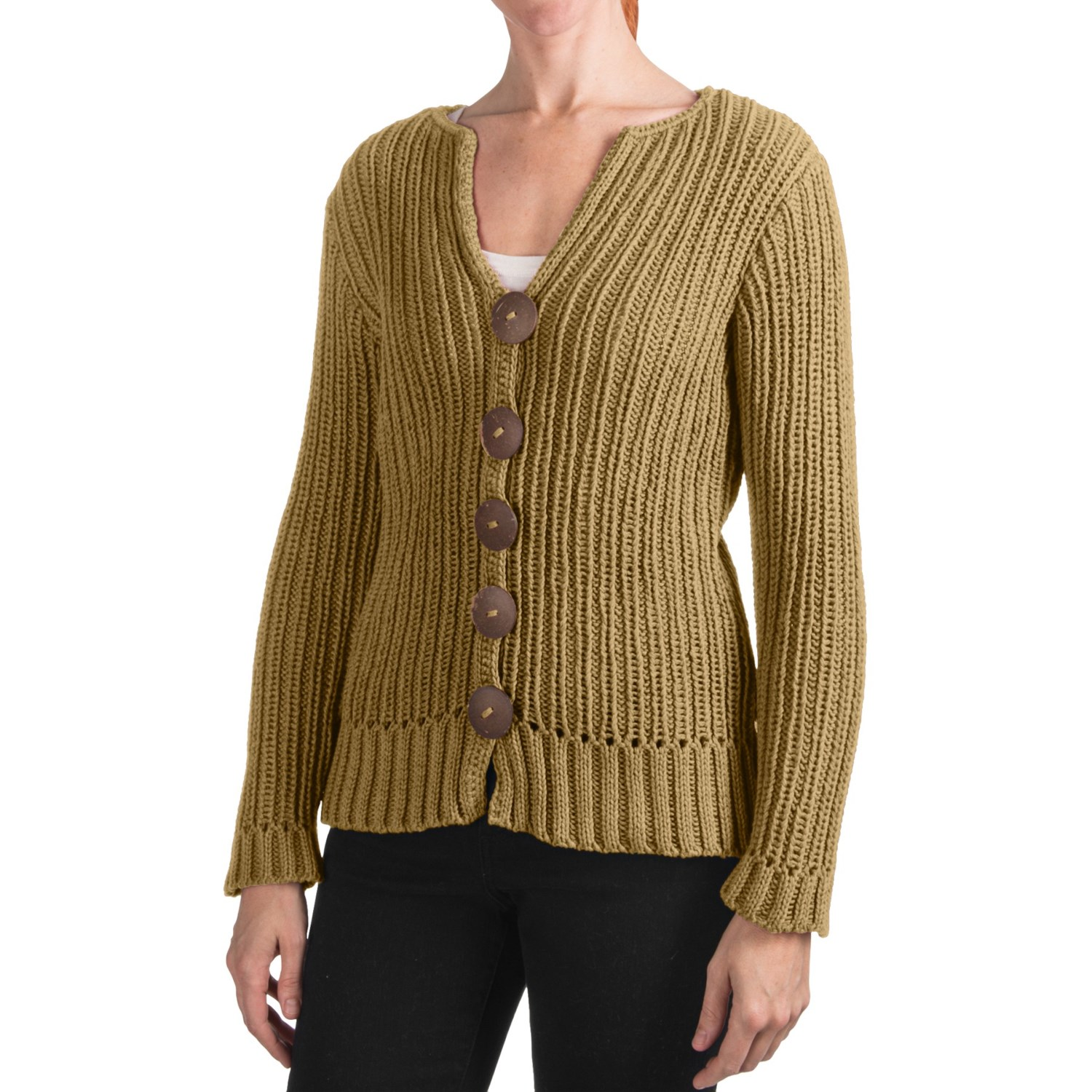 Pure Handknit Ranong Cardigan Sweater (For Women) - Save 39%