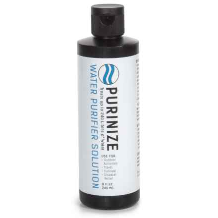 PURINIZE® Water Purifier Solution - 8 fl.oz. in See Photo - Closeouts
