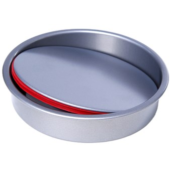 "Pushpan Gourmet Non-Stick Cake Pan - 9"" in See Photo"