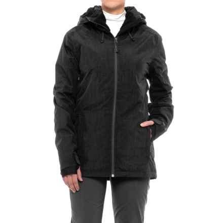 PWDER Room Phantom PrimaLoft® Ski Jacket - Waterproof, Insulated (For Women) in Black Melange - Closeouts