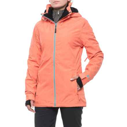 PWDER Room Phantom PrimaLoft® Ski Jacket - Waterproof, Insulated (For Women) in Melon Melange - Closeouts