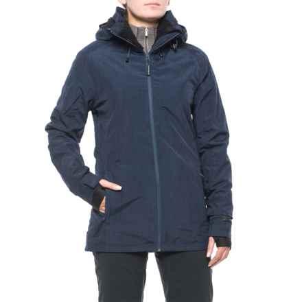 PWDER Room Phantom PrimaLoft® Ski Jacket - Waterproof, Insulated (For Women) in Navy Melange - Closeouts