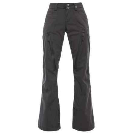 PWDER Room PWDR Room Guide Ski Pants - Waterproof (For Women) in Black - Closeouts