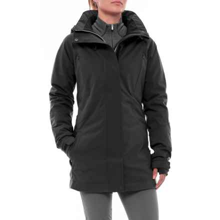 PWDER Room PWDR Room Plateau PrimaLoft® Ski Jacket - Waterproof, Insulated (For Women) in Black - Closeouts