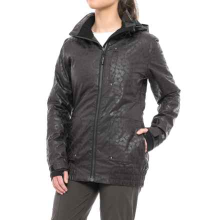 PWDER Room PWDR Room Relay PrimaLoft® Ski Jacket - Waterproof, Insulated (For Women) in Black - Closeouts